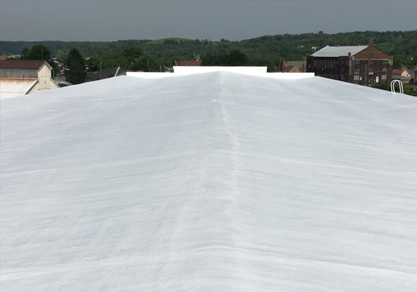 Roof Restored With Spray Foam Polyurethane