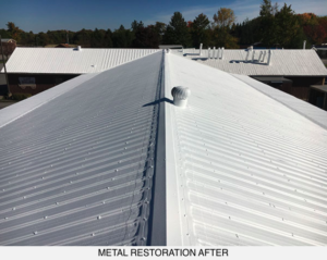metal roof coating after