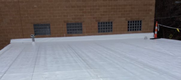 commercial roof coating by Keystone Commercial Roofing