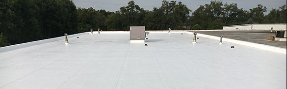 single-ply roof membrane