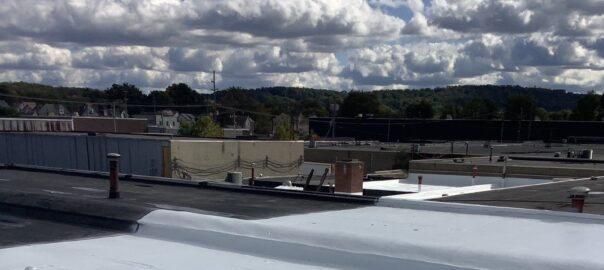 industrial roof in Pennsylvania inspected by Keystone