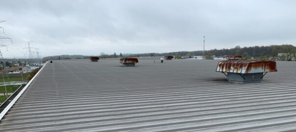 metal commercial roof