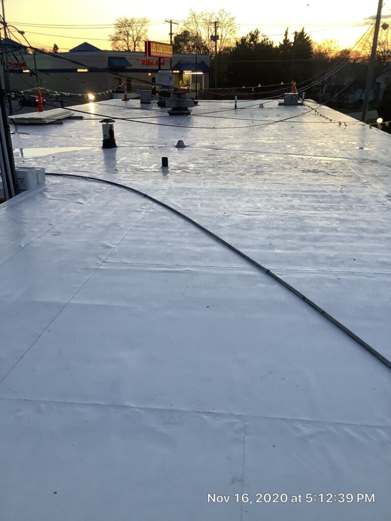 roof membrane by keystone commercial roofing